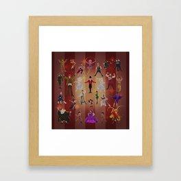 Greatest show Framed Art Print