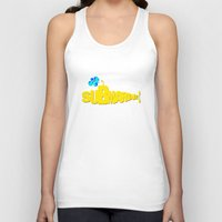 submarine Tank Tops featuring Yellow Submarine by Tali Rachelle