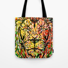 Lion in Zion Tote Bag