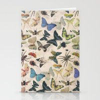 insect Stationery Cards featuring Insect Jungle by Galvanise The Dog