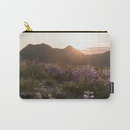 Three Sisters Sunset Photography Print Carry-All Pouch