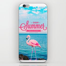 Every summer has a story iPhone Skin