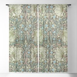 Pimpernel by William Morris Sheer Curtain