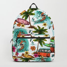 Summer surfing Backpack