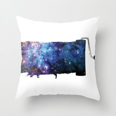 Paint your space Throw Pillow