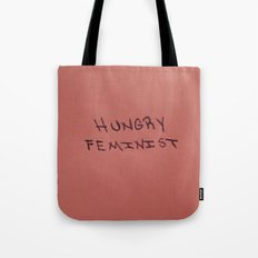 HUNGRY FEMINIST. Tote Bag
