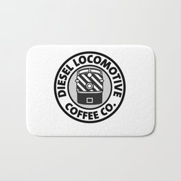 Diesel Locomotive Coffee Co. Bath Mat