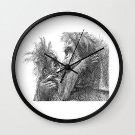 Orang Utan Wall Clock