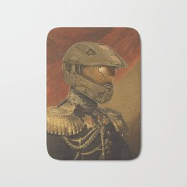 Halo Master Chief Spartan 117 Class Photo General Painting Fan Art Bath Mat