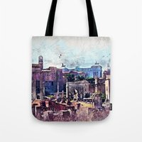 rome Tote Bags featuring Rome by jbjart