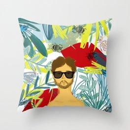 Let's be adventurers Throw Pillow