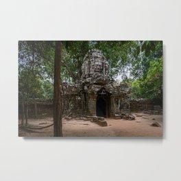 Ta Som Temple Ruins Metal Print
