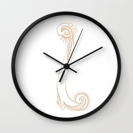 Fancy I Wall Clock