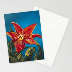 Morning Star Lily Stationery Cards