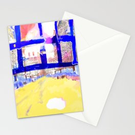 Snow at Old Montreal Stationery Cards