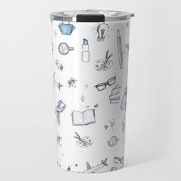 Essentials - Blue Travel Mug