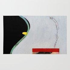 Eliminate Clutter (oil on canvas) Rug
