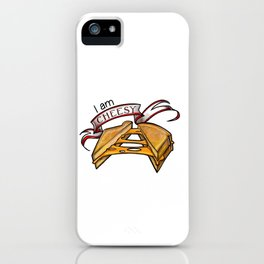 I am cheesy iPhone Case