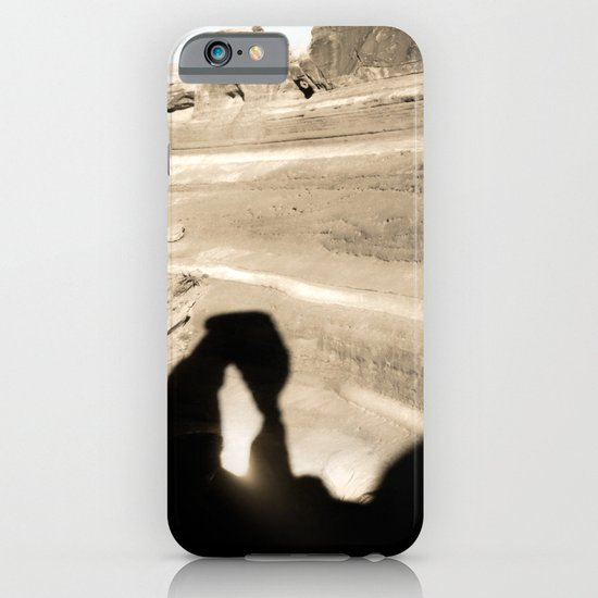 Delicate Arch shadow iPhone & iPod Case
