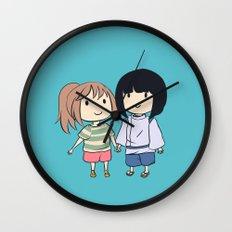 Chihiro & Haku Wall Clock