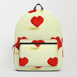 Low Poly Heart Backpack