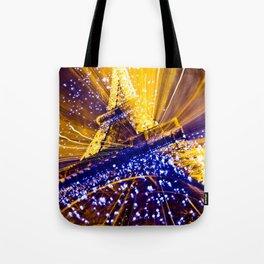 Supernova Eiffel Tote Bag