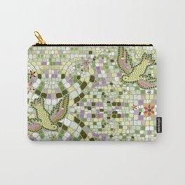 Bird Mosaic Carry-All Pouch