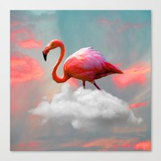 My Home up to the Clouds Canvas Print
