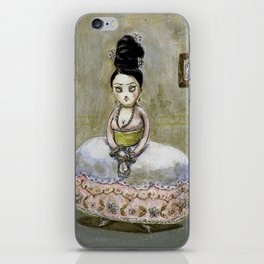 frida kahlos' grandgrandgrandmother iPhone Skin
