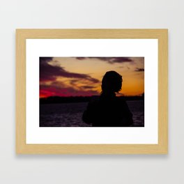 BEDOUIN SUNSET III Framed Art Print