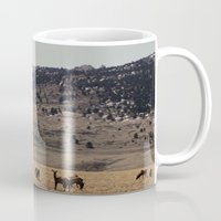 elk Mugs featuring Elk by Al Robinson