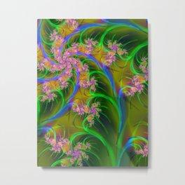 May Blossoms Metal Print