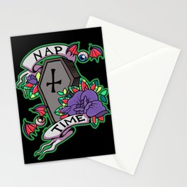 Nap Time Dark Stationery Cards