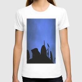 Incoming night on the city T-shirt