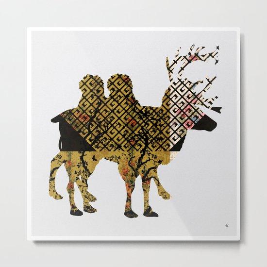 FabCreature · LaMix Metal Print
