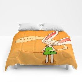 Hello Toki Comforters