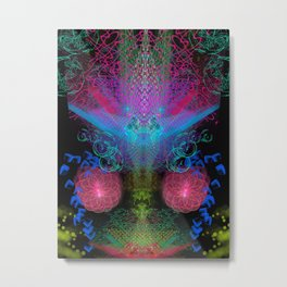 Scramble Light Entity II Metal Print