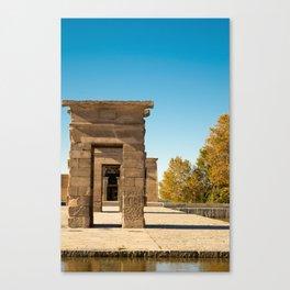 Templo Debod Canvas Print