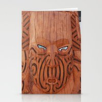 tiki Stationery Cards featuring Tiki Tiki by leyna.seaton