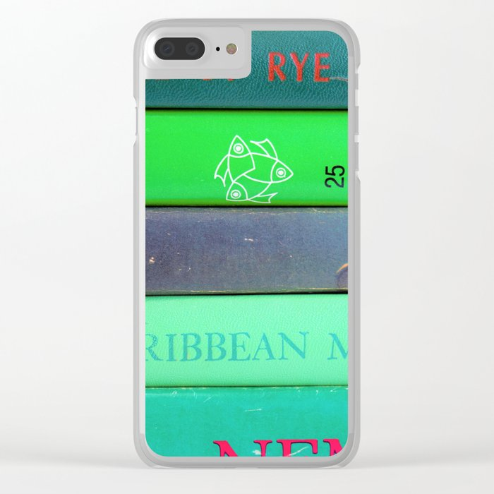 finest selection ef8db 7011f Agatha in Green Clear iPhone Case