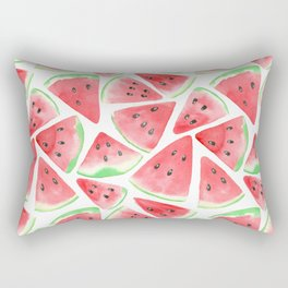 Watermelon slices pattern Rectangular Pillow