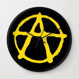 Anarcho-Capitalism Wall Clock