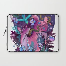 Majestic Midnight Pink Whitetail Doe Laptop Sleeve