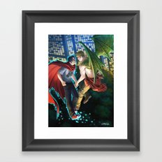 William and Theodore 12 Framed Art Print