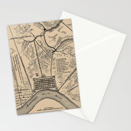 Bayou St. John in French Stationery Cards
