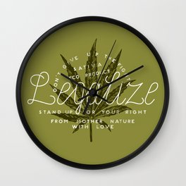 Legalize Wall Clock