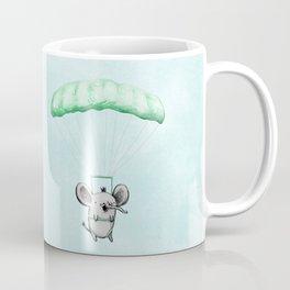 Cutie Parachuting Elephant Coffee Mug