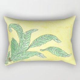 Acanthus Leaves Rectangular Pillow