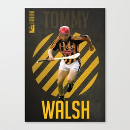 GAA Posters – Tommy Walsh Canvas Print