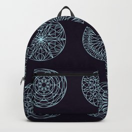 Mandala seamless pattern Backpack